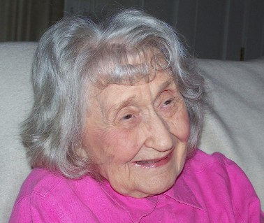 Lila Frances Broughton Foote 100 years old on June 24, 2011. Photo sent to Willard Scott for Smuckers' NBC-TV consideration.