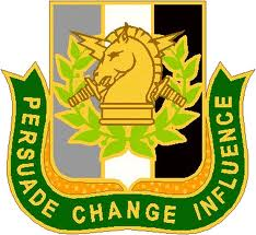 Logo of Psychological Operations, US Army
