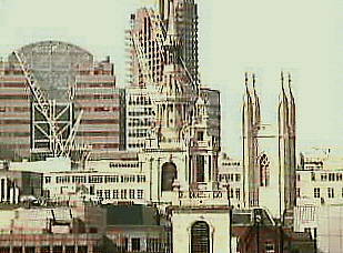 FINANCIAL TIMES webcam photo of St. Mary Aldermary